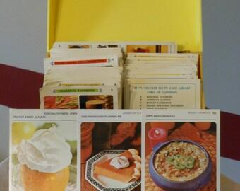 The Betty Crocker Recipe Card Library (1971)