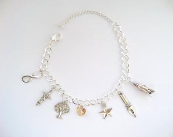 Clexa. The 100 Charm Bracelet