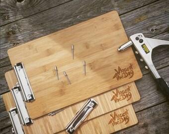 Bamboo Menu clipboards