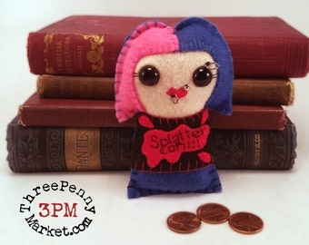 Molly Carpenter - Dresden Files plushie