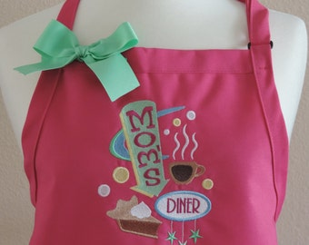 Mom Cafe Apron