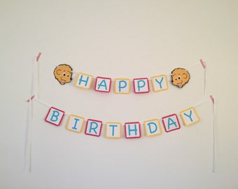Berenstain Bears Happy Birthday Banner - Berenstain Birthday Banner - Berenstain Bear Party - First Birthday Party Banners