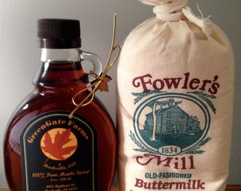 Maple Syrup 8 oz. & Buttermilk Pancake Mix
