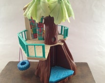 Hasbro Vintage Tree house Childrens Vintage Toy Action Figure Collectable Vintage treehouse toy