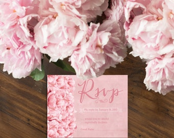 Insert Cards - ADDITIONAL Insert or Enclosure Card or Rsvp for your Wedding Invitation Order / PRINTED