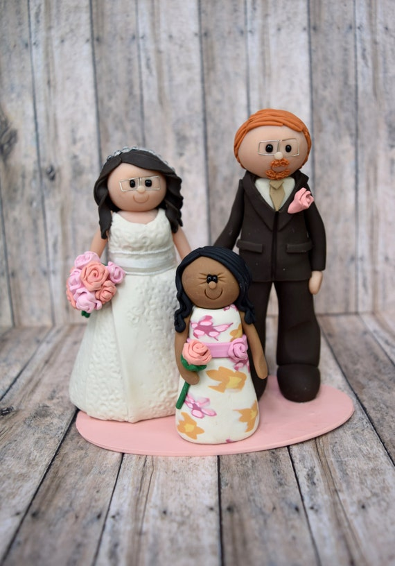wedding cake toppers including child groom and child cake topper deposit personalized 26503