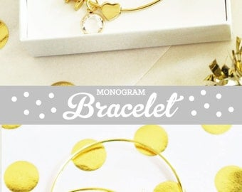 Bridal Party Bracelets Bridal Party Jewelry Bridal Party Gifts for Bridesmaids Gifts & Maid of Honor Gift Tie the Knot Jewelry (EB3144)
