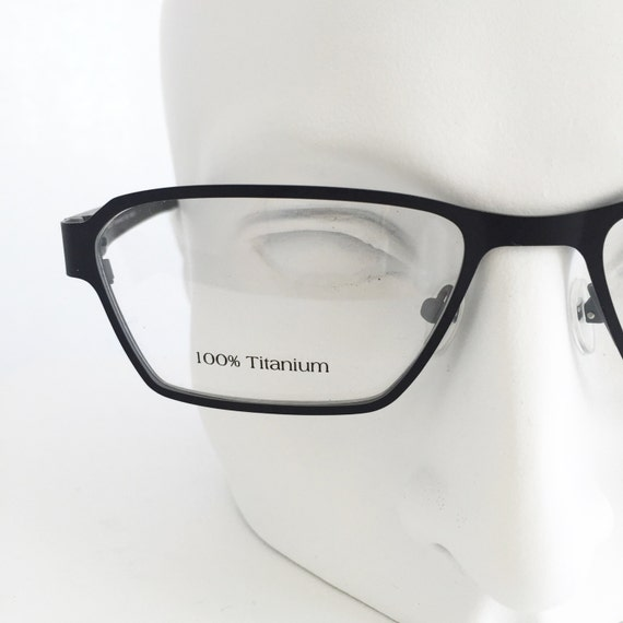 100 titanium eyeglasses or custom reading glasses by