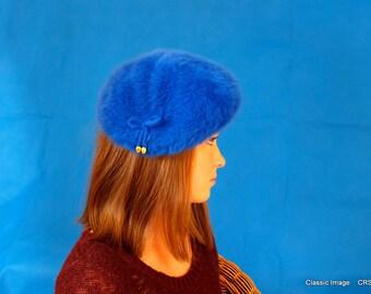 Hat, Royal Blue, by Kangol
