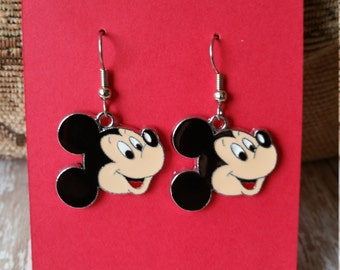 Mickey Mouse Earrings - Great Gift Idea -  Flat Rate Shipping for US Orders