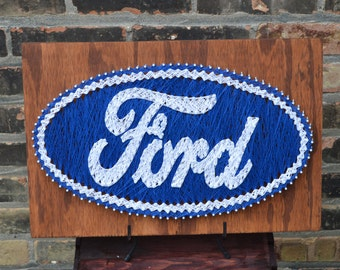 Ford String Art