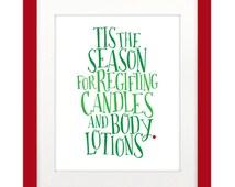 Christmas/Holiday Printable Wall Art - 8x10 and 5x7