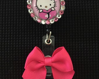 Hello Kitty Nurse Retractable Badge Holder!