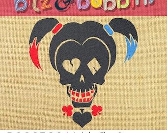 Harley Quinn Embroidery Designs   Makaroka.com