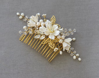 Fleur | Bridal Comb, Wedding headpiece, Bridal Headpiece, Wedding Comb,