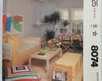 McCall's 8074 UNCUT Apartment Essentials