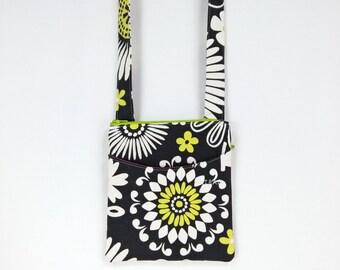 crossbody bag, sling bag, travel zipper purse, passport holder, cell phone handbag, hiking wallet, girlfriend gift