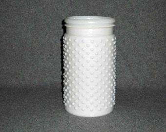 Vintage White Milk Glass Hobnail Vase,Large, Wedding Decor,Flower Vase