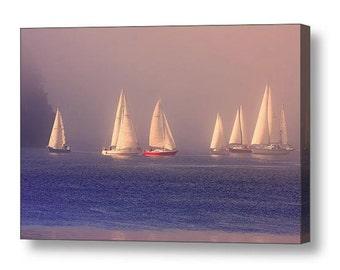 Sailboat Photograph, Gift for Sailor, Sailing Gifts, Sailing Boat, Boating Gifts, Ocean Photography, Nautical Decor, Landscape Photography