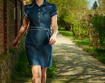 Nöldnerin - denim shirt dress