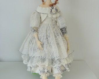Artist doll, by Elena Fesler, skulpt. Orig.