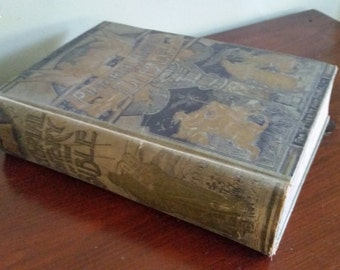 Antique Pictorial History of the Bible // William Smith, LLD // 1890's // Illustrated Bible