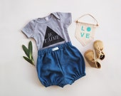 Soft Denim Tencel Bloomers