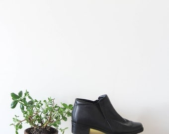 Vintage Leather Boots (size 7.5)