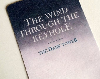 Stephen King's Dark Tower bookmark: The Wind Through the Keyhole (Book 8)