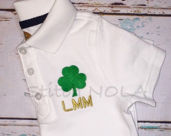 Shamrock Collared Shirt