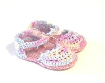 Baby Summer Espadrille - Designer Baby Sandal - Baby Espadrille Sandal - Crochet Baby Espadrille - Baby Girl Sandal - Baby Summer Shoe