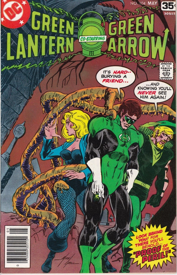 green lantern 104 may 1978 issue dc comics grade vf nm
