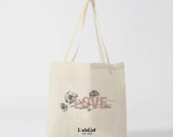Love X128Y Tote bag, tote bag races, courses bag, shopping bag, cotton bag, canvas bag, diaper bag, tote bag evjf bag Beach