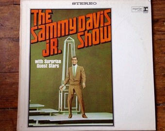 1965 The Sammy Davis Jr. Show with Surprise Guest Stars (Frank Sinatra, Dean Martin), Sammy Davis Jr Record Album RS-6188. VG+/NM. Reprise.