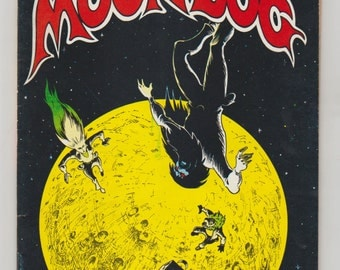 Moondog; Vol 1, 2, Bronze Age Comic Book. VF-. September 1971. Print Mint.