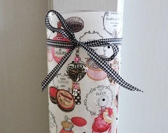 Vanity Lamp/Vintage Perfume Bottle Lamp/Sweet 16 Gift/Girls Dorm Decor/Teen Room Decor/Night Light