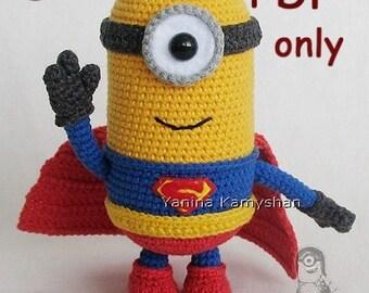 Mighty Hero, amigurumi crochet pattern