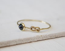 Black Spinel Ring, Eternity Symbol Ring, Infinity Ring, 14k Gold Jewelry, Stacking Ring, Rose Cut Gemstone Ring, Bohemian Ring, all sizes