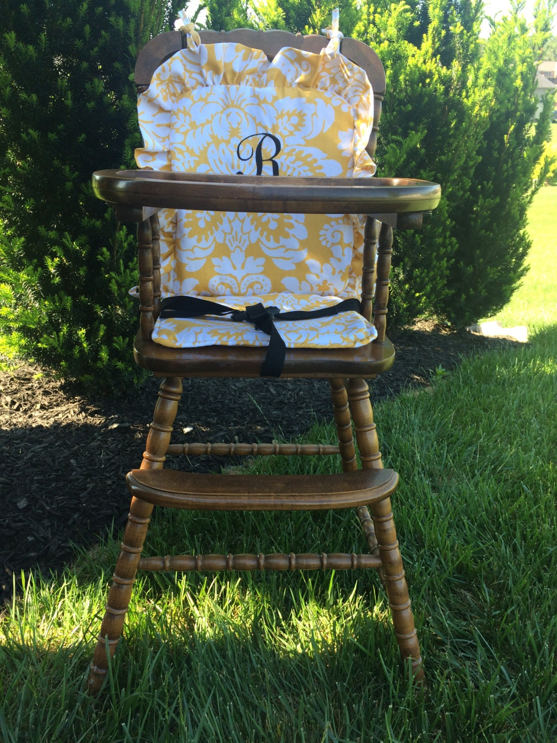 wooden high chair cover highchair cover high chair cushion