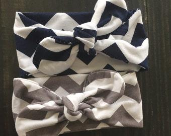 Chevron Knot Headband
