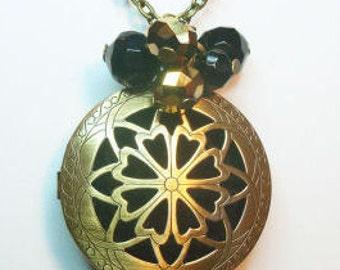 Essential Oil Diffuser - Bronze Star Design - Large