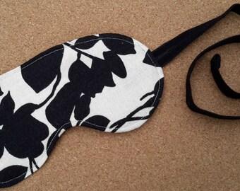 Floral Cotton & Satin Sleep Mask