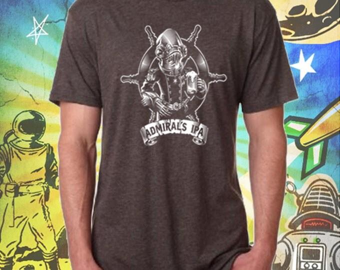 Admiral's IPA Men's T-Shirt in Brown Star Wars Beer Tshirt