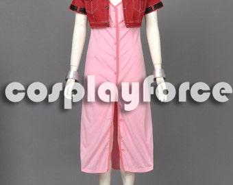 Final Fantasy VII Aerith Gainsborough Cosplay Costume mp002970