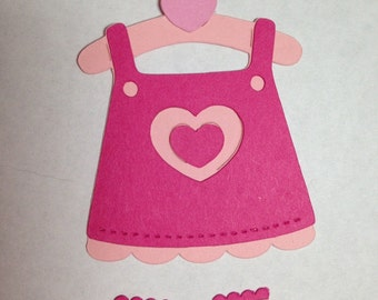 Baby Dress Die Cut