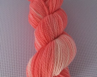 Hand Dyed 100% Peruvian Highland Wool - Sport weight 164 yards/150 metres