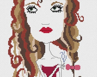 Helena Cross Stitch Pattern