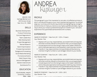 Professional resume template with photo modern cv word resume template cv template for word mac pages professional resume design with photo yelopaper