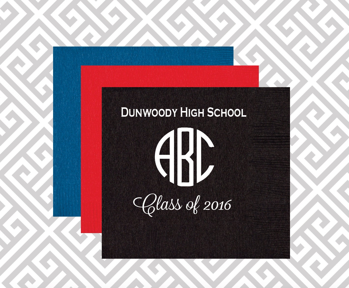 cheap graduation paper products Custom printed paper napkins categories cocktail napkins 33 dinner  check out our custom napkins these products will help you complete your event with style.