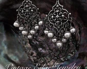 Bohemian Sea Goddess Earrings